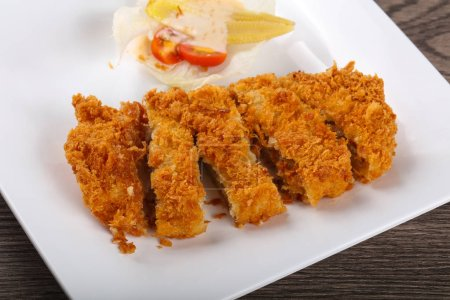 Crispy Pork with cheese