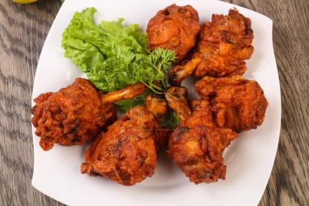 Indian traditional Chicken lollipops