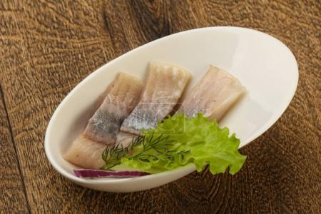 Sliced Herring fillet