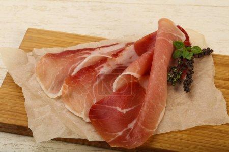 Delicious Spanish hamon
