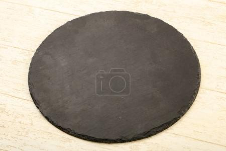 Black stone plate for home and restorant use