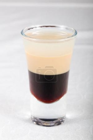 B-52 cocktail party over white background