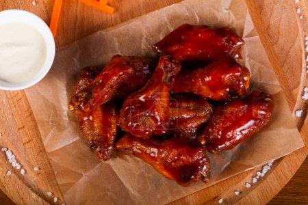 Chicken wings BBQ sauce