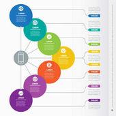 Web Template of info chart