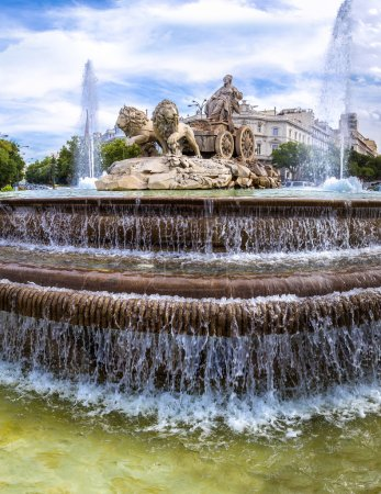 Cibeles fountain in Madrid