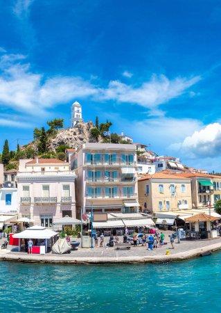 Poros island in Greece