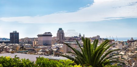 Genoa in a summer day, Italy