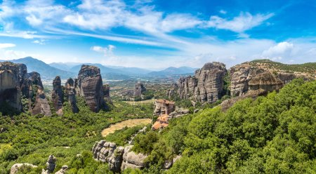 Meteora in a summer day, Greece