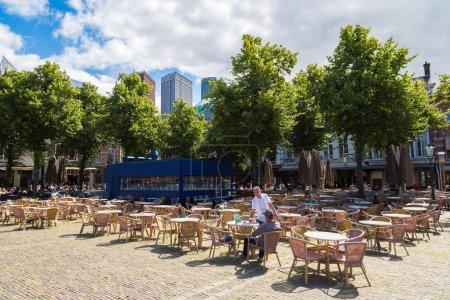 Town square Het Plein in Hague