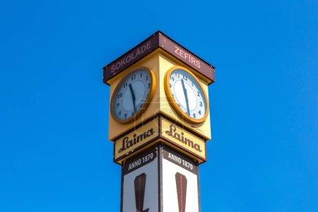 Laima clock in Riga
