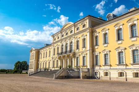 Rundale Palace in summer