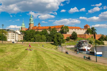 Royal castle in Krakow