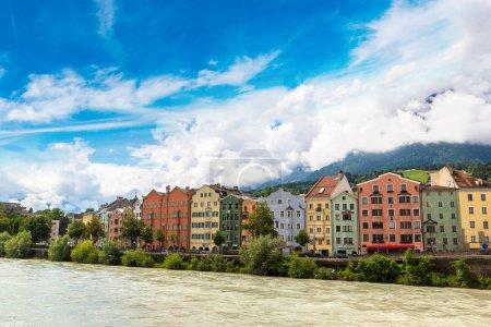colorful buildings in Innsbruck