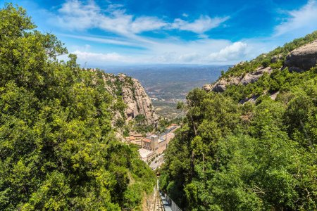 Montserrat funicular railway