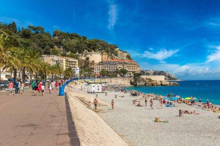 Public beach in Nice