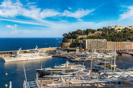 Port Hercule in Monte-Carlo
