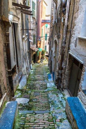 Medieval street in San Remo