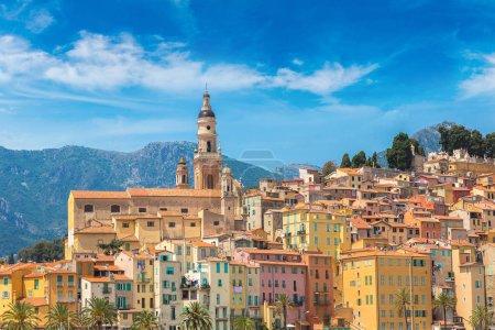 Menton on french Riviera
