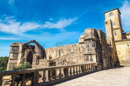 Medieval Templar castle