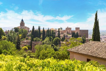 Arabic fortress of Alhambra