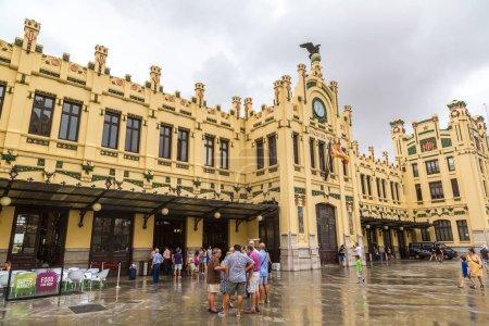 North train station in Valencia