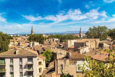 Avignon on beautiful summer day