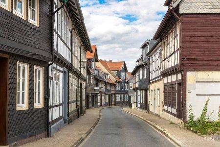 Historical street in Goslar