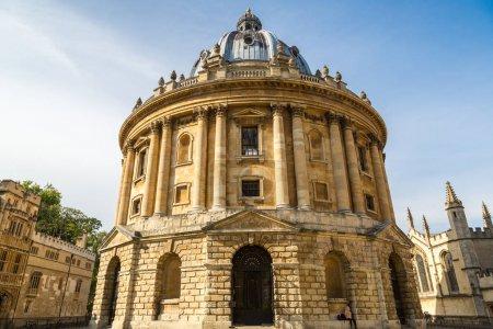 Photo pour Radcliffe Camera, Oxford University, Oxford, Angleterre, Royaume-Uni - image libre de droit