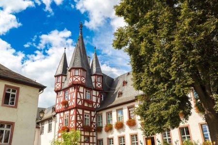 Old architecture of Rudesheim
