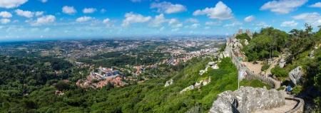 The Castle of the Moors in Sintra