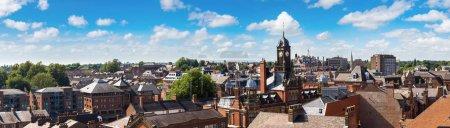 Panoramic view of York