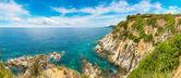 Rocks on the coast of Lloret de Mar
