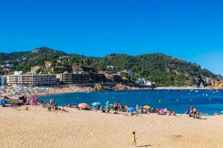 Beach at Tossa de Mar
