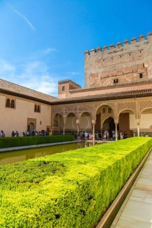 Court of Myrtles of the Alhambra