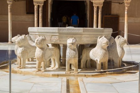 Court of Lions in Alhambra palace