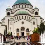 BELGRADE, SERBIA - JUNE 28, 2016: Serbian orthodox...