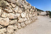 Ruins of ancient city Mycenae, Greece in a summer day
