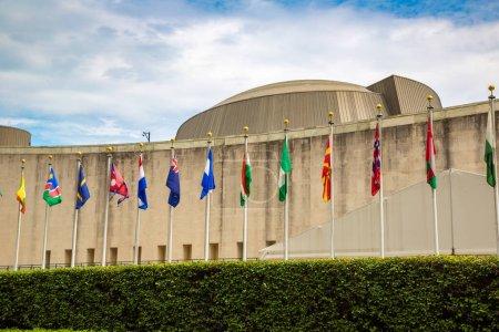 Photo pour NEW YORK - 15 MARS 2020 : Siège des Nations Unies à New York (États-Unis) - image libre de droit