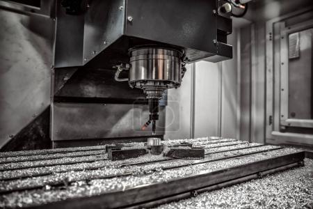 Machine de fraisage Cnc pour métaux
