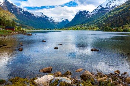 Photo pour Belle nature Norvège paysage naturel. - image libre de droit
