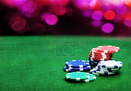heap of casino chips