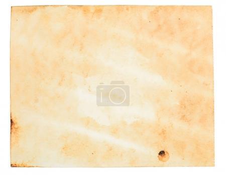 Photo pour Ancien modèle de papier grunge rugueux avec des gouttes et un motif de fissure sale. Chemin de travail - image libre de droit