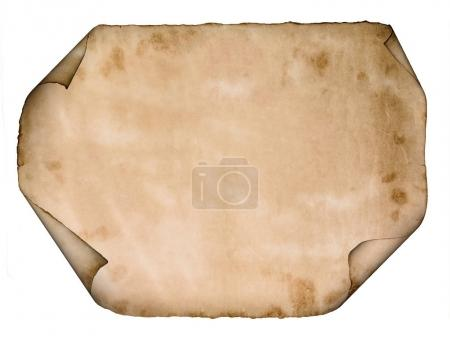 old paper parchment scroll