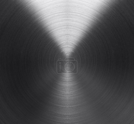 Photo for Brushed metal texture background for design - Royalty Free Image