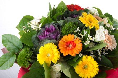 bouquet flowers composition