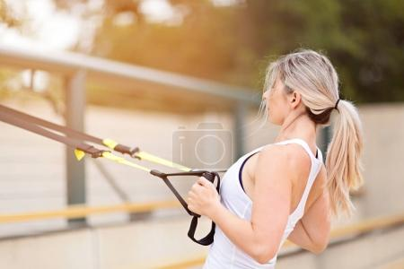 woman fitness outdoor