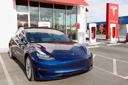 tesla model 3 new electric car