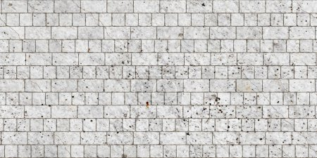 Foto de Textura de ladrillo, fondo sin costuras - Imagen libre de derechos
