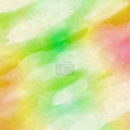 Foto de Abstact acuarela sobre papel - Imagen libre de derechos