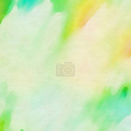 Photo pour Abstrait Aquarelle sur papier - image libre de droit
